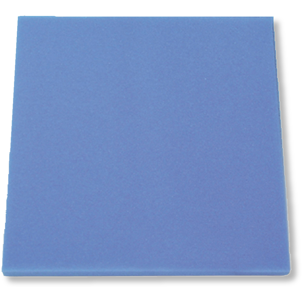 JBL filtrační pěna modrá jemná 50x50x5cm