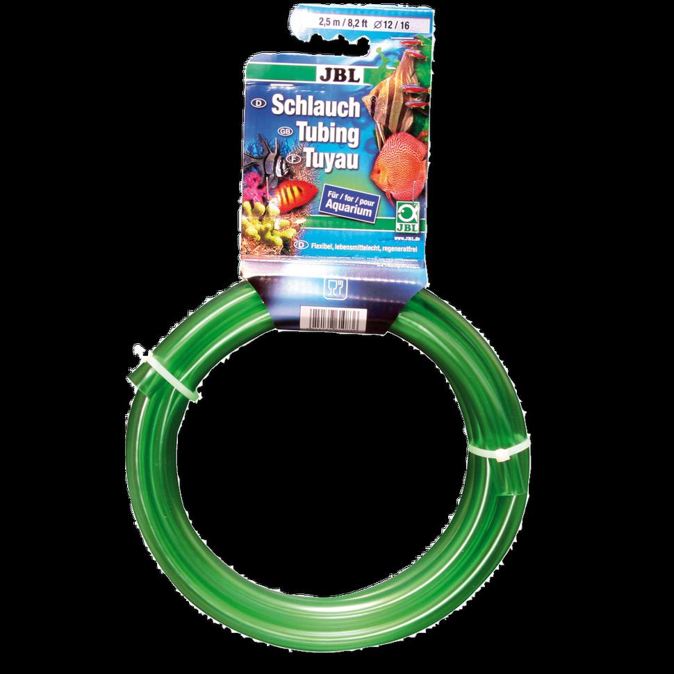 JBL akvaristická hadice zelená 2,5 m 12/16