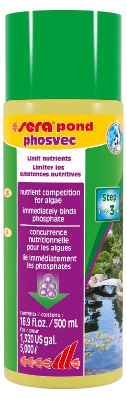 Sera pond phosvec - 500 ml