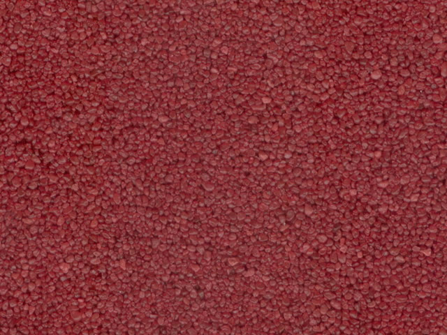 Písek křemičitý - červená -  3 kg