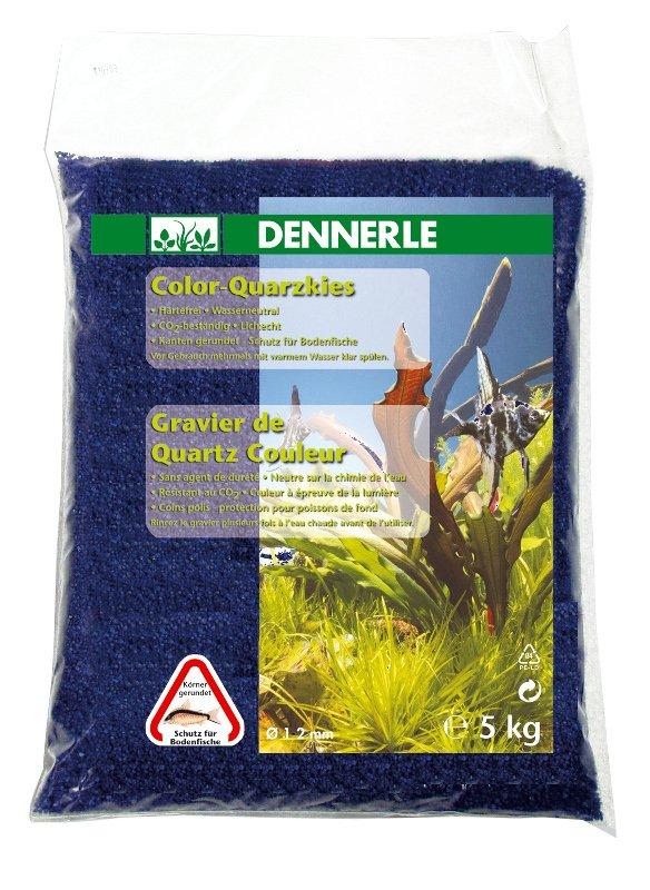 DENNERLE Color-Quarzkies 5 kg azurově modrý