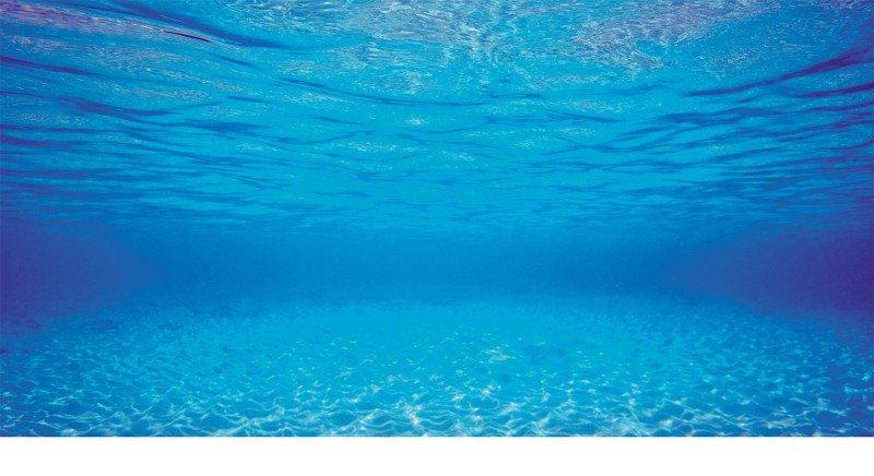 JUWEL Pozadí Poster 2 S, Blue/Water, 60x30 cm