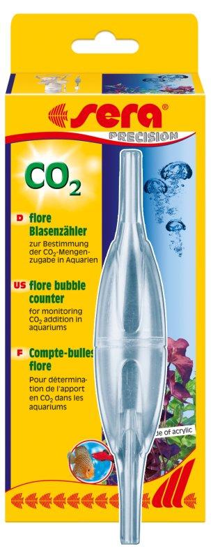 Sera flore CO2 počítadlo bublin