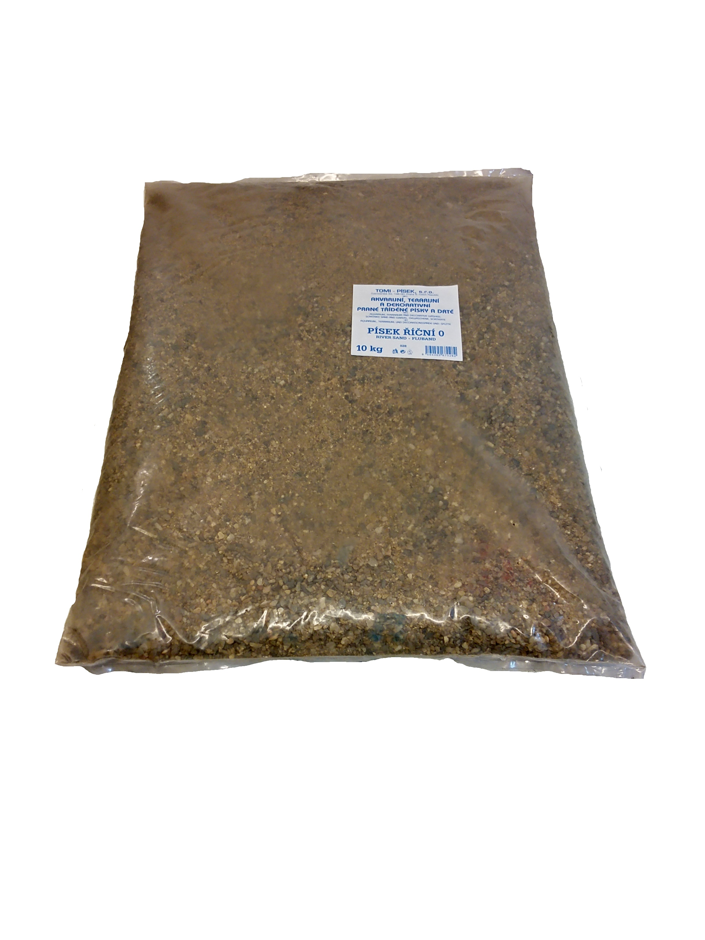 Písek říční To-pi  č.0 - 10 kg