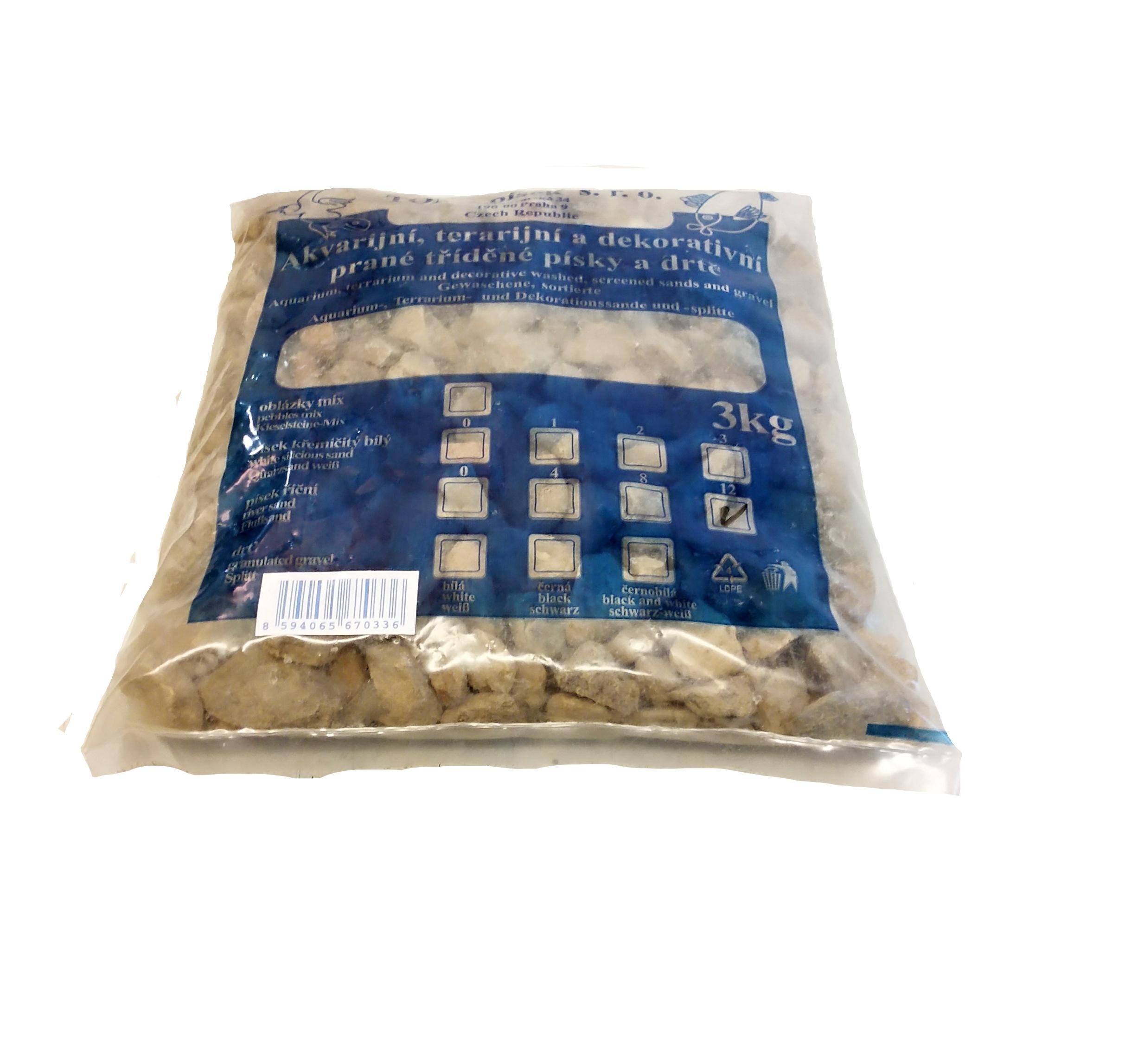Písek říční To-pi č. 12 - 3 kg
