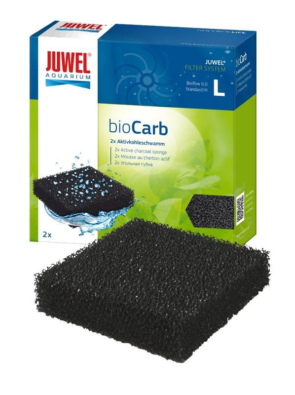 JUWEL Filtrační vata s aktivním uhlím BioCarb L, 2 ks