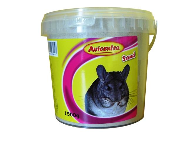 Písek AVICENTRA pro činčily  (1,5kg)