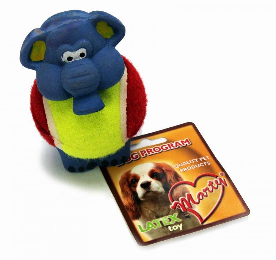 Marty hračka Slon + míček 14 cm