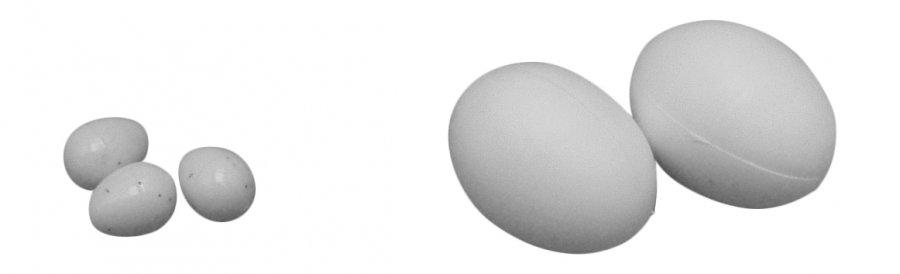 MARTY vajíčko podkladové velké - 2 ks