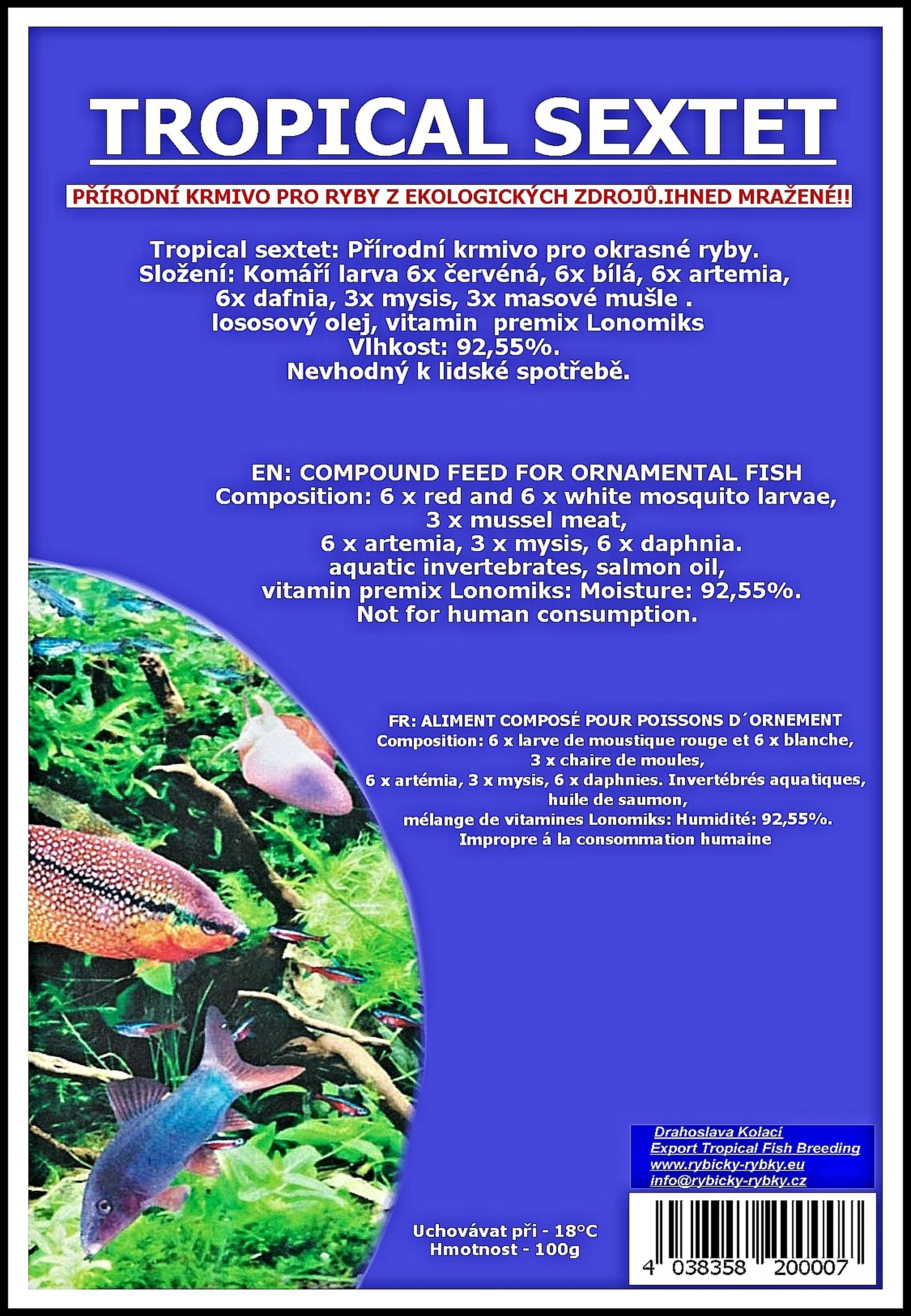 Sextet Tropical - blistr - 100g