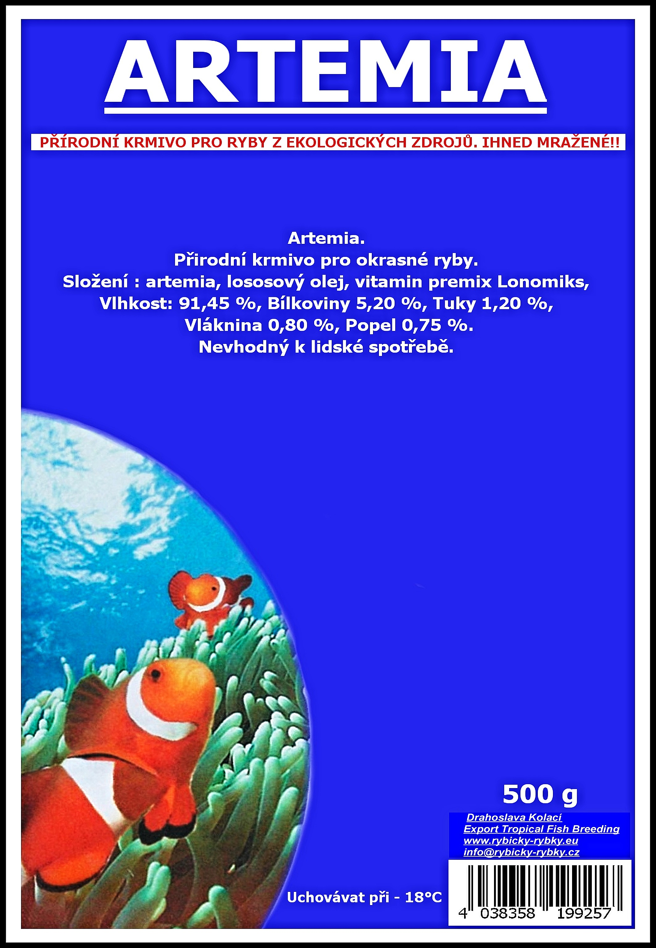 Artemia - 500 g
