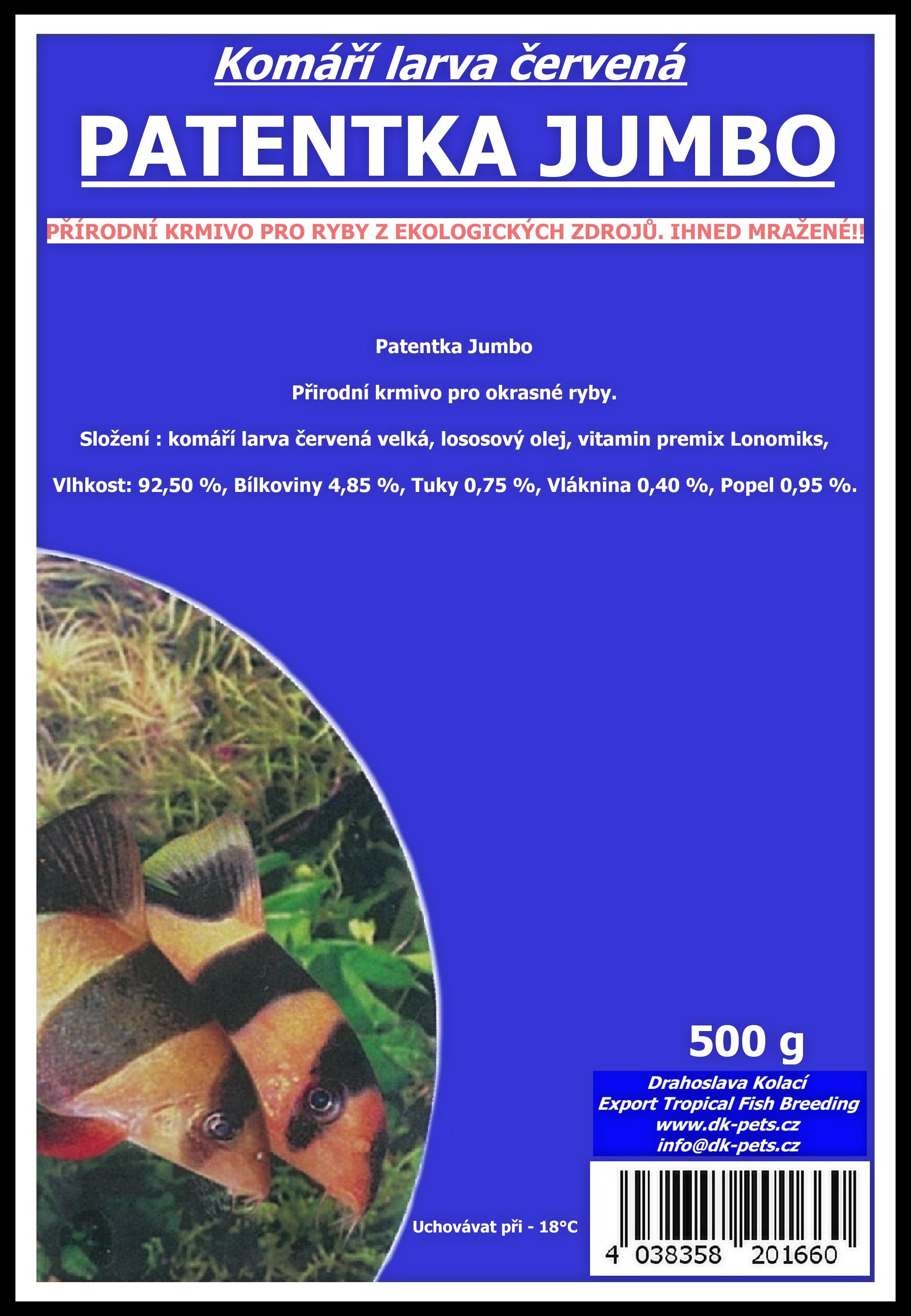 Patentka Jumbo (velká) - 500g