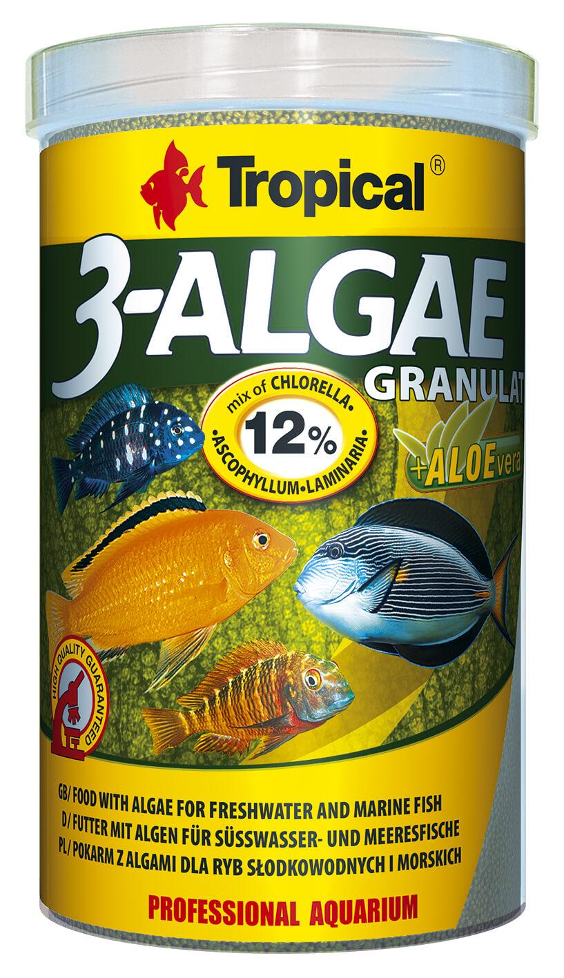 Tropical 3-Algae Granulat - 1000ml/440g