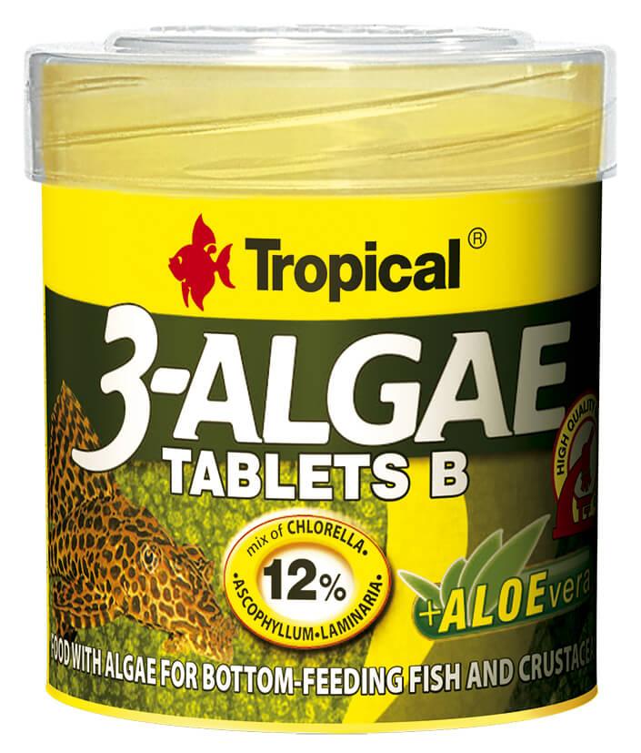 Tropical 3-Algae Tablets B - 50ml/36g