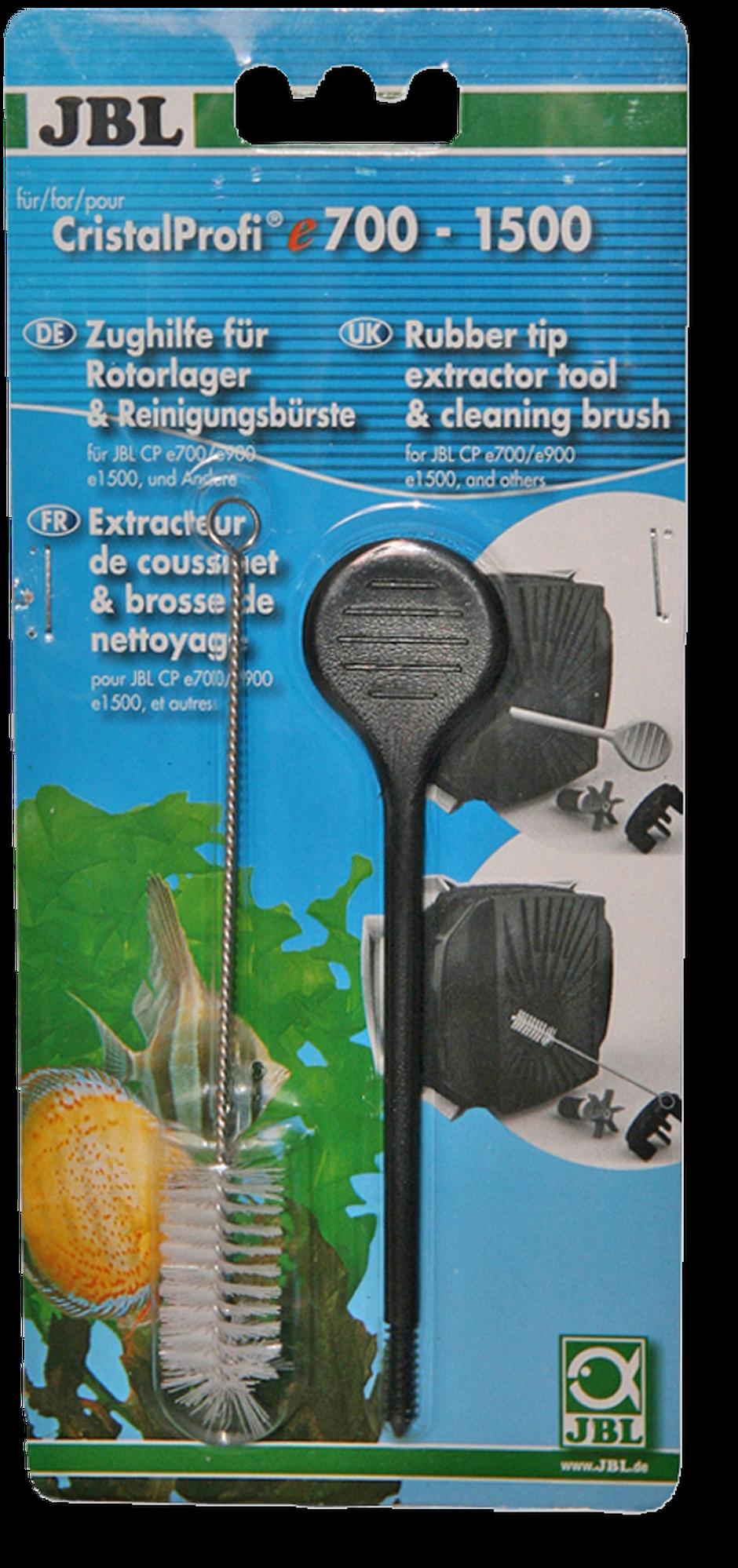 JBL CristalProfi vytahovák ložisek rotoru,kartáč