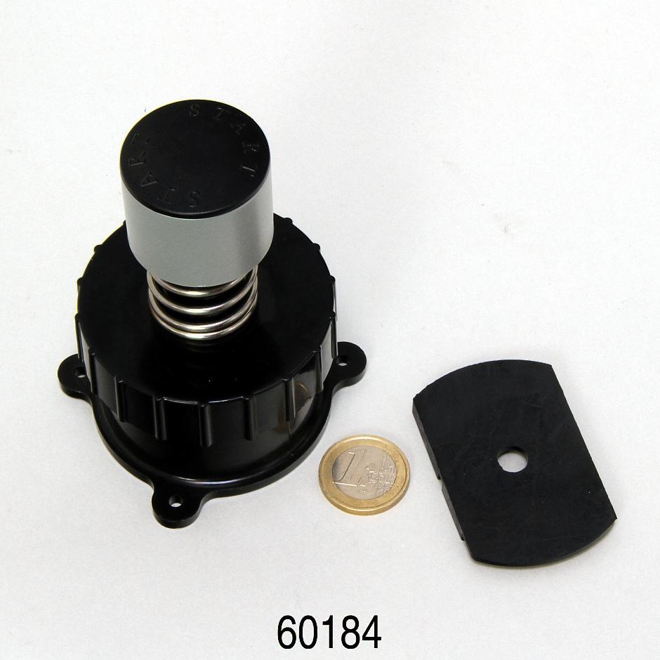 JBL CP e15/1900/1,2 tlačítko start+převlečná matice