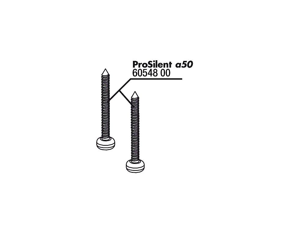 JBL PS/PA a50 šrouby krytu, 2x