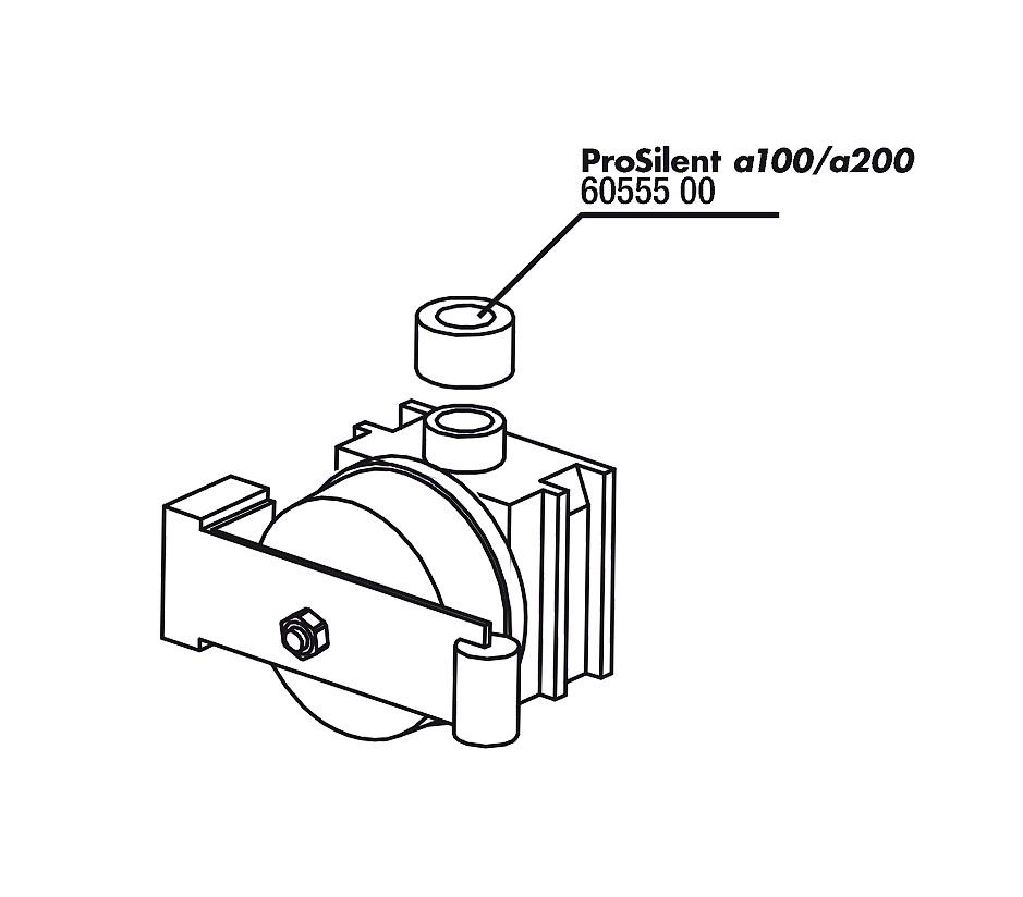 JBL PS a100/200 těsnění k sadě membrán, 2x