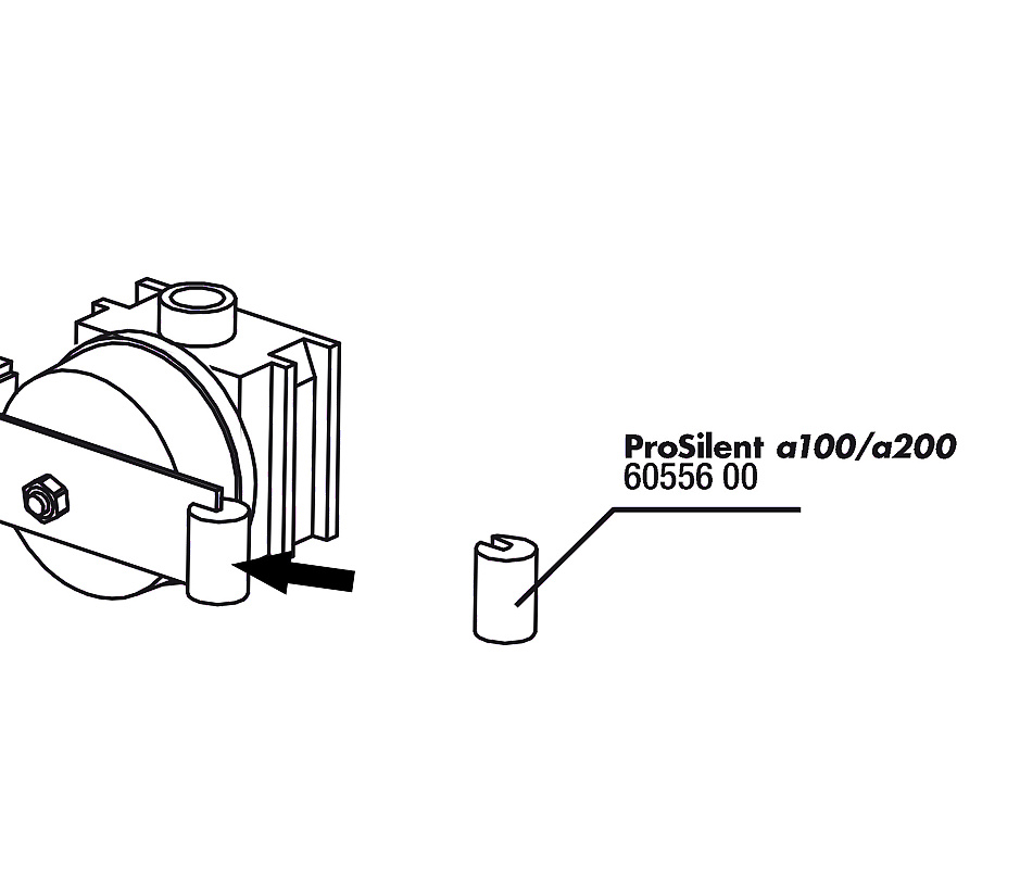 JBL PS a100/200 gumový držák na membránu