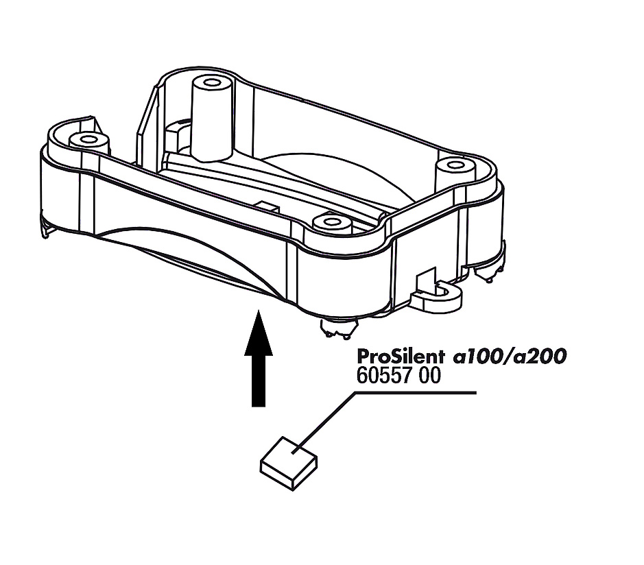 JBL PS a100/200 vzduchový filtr, 2x