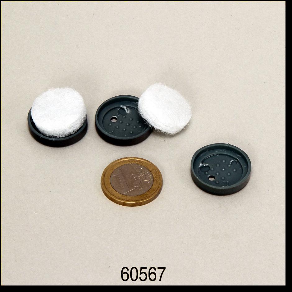 JBL PS a300/400 vzduchový filtr s víkem, 2x