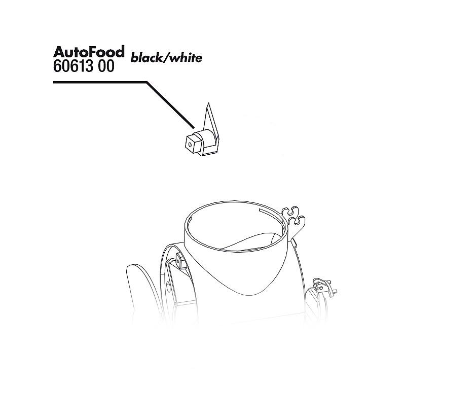 JBL AutoFood nůž na uzavírání dóz