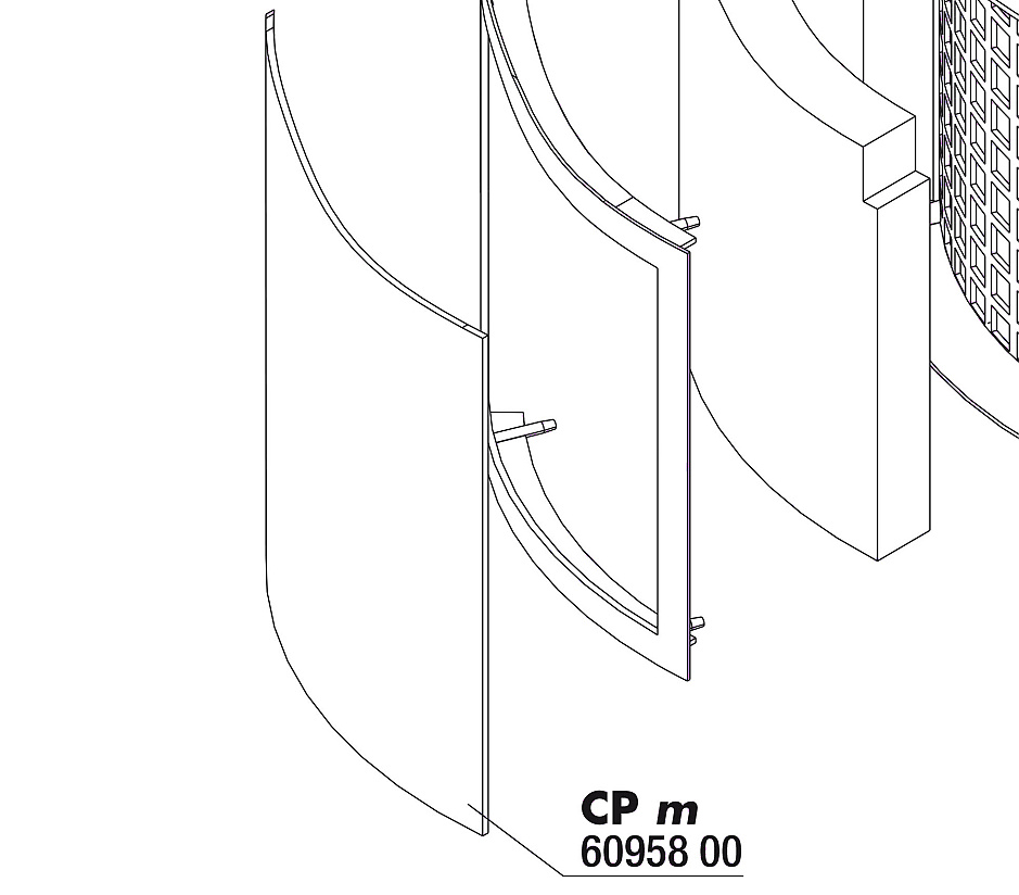 JBL CristalProfi m greenline servisní kryt