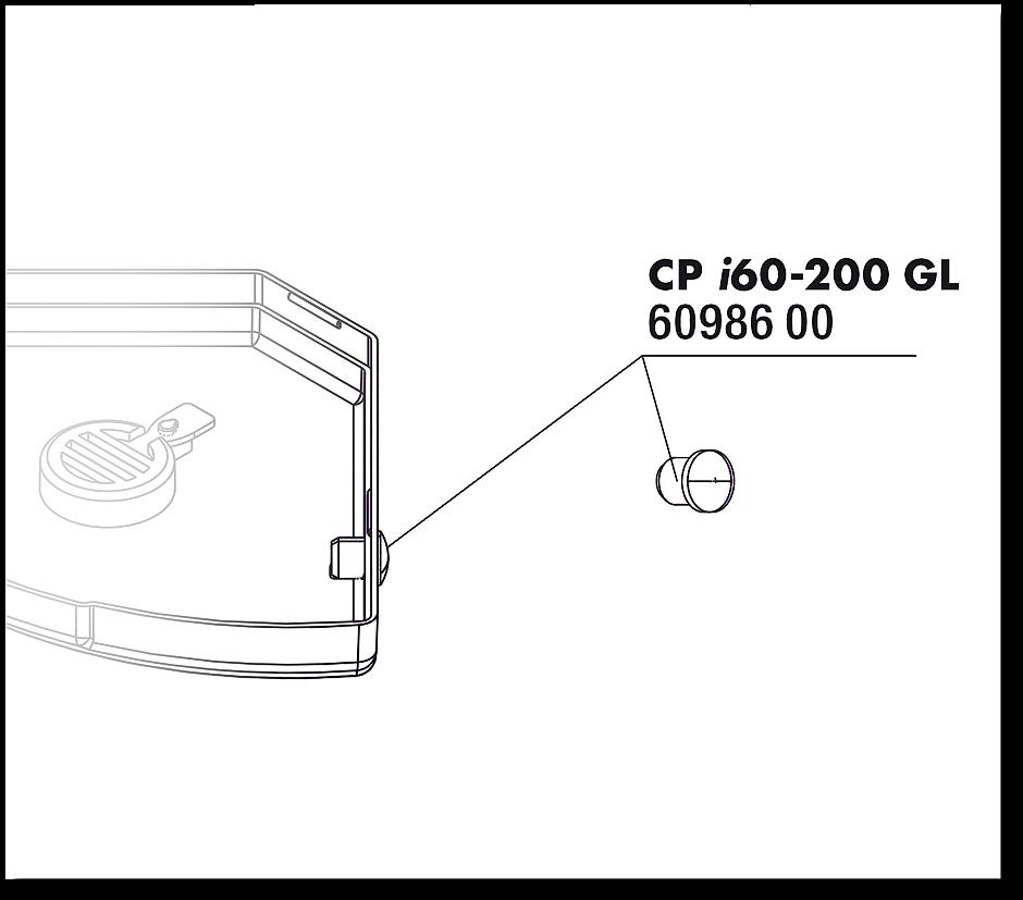 JBL CP i_greenline gumová podložka, deska, 2x