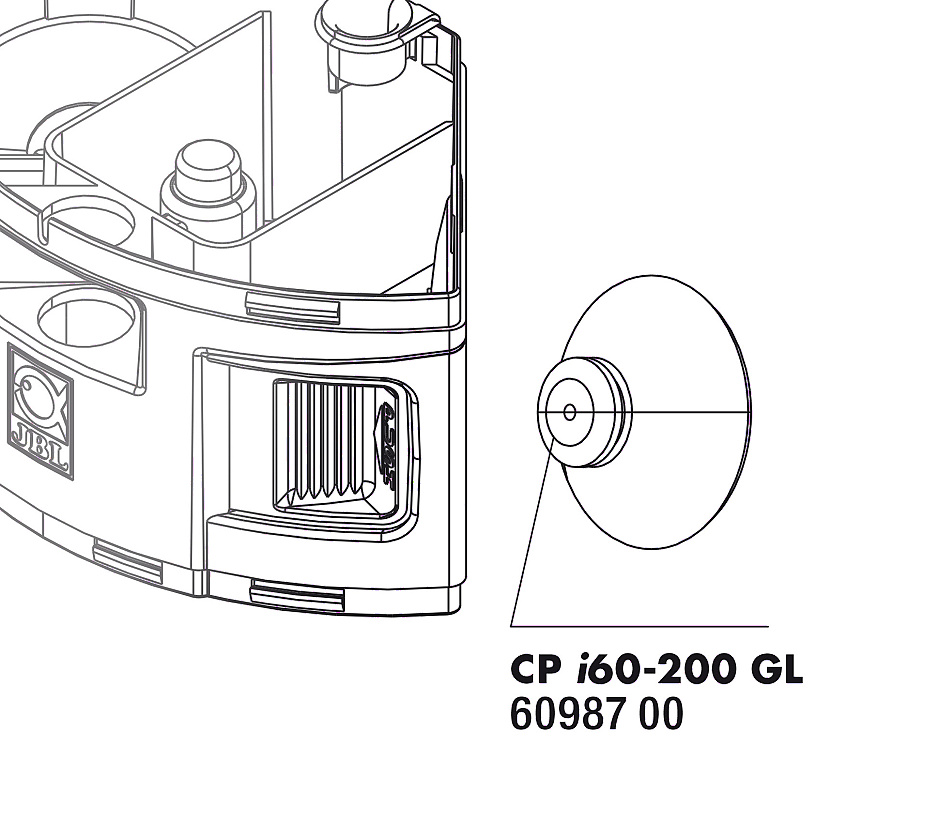 JBL CP i_greenline speciální přísavky, 2x