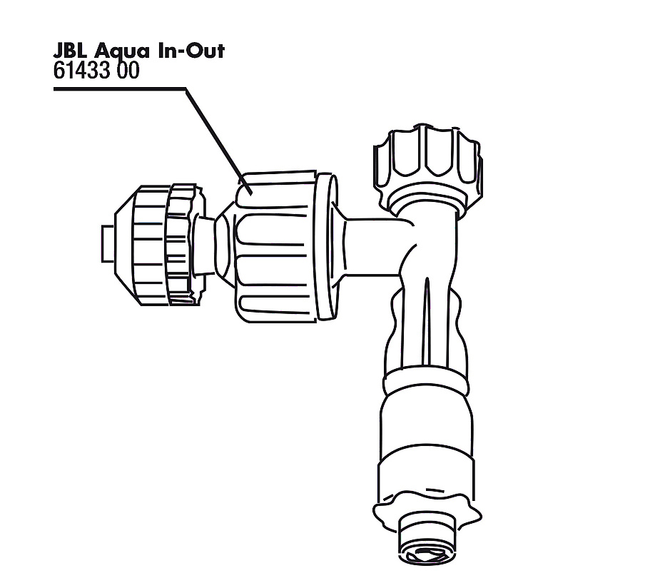 JBL Aqua In-Out čerpadlo trysky