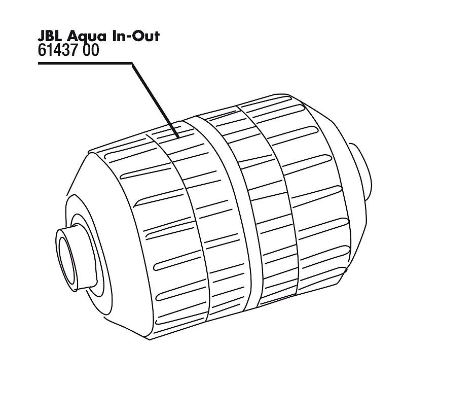 JBL Aqua In-Out spojka hadice