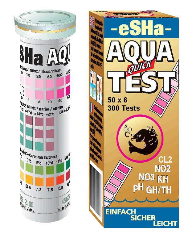 eSHa Aqua Quick Test - 50 ks