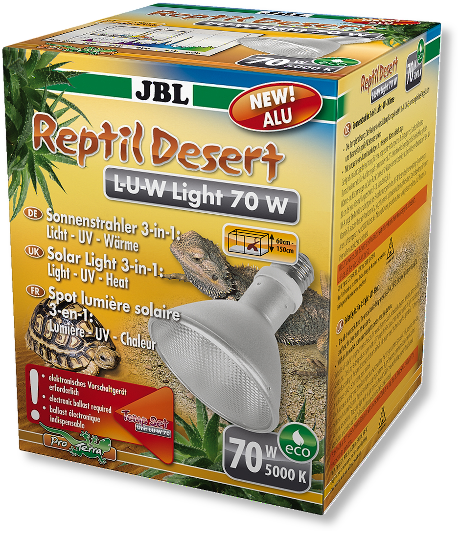 JBL ReptilDesert L-U-W Light alu 70 W