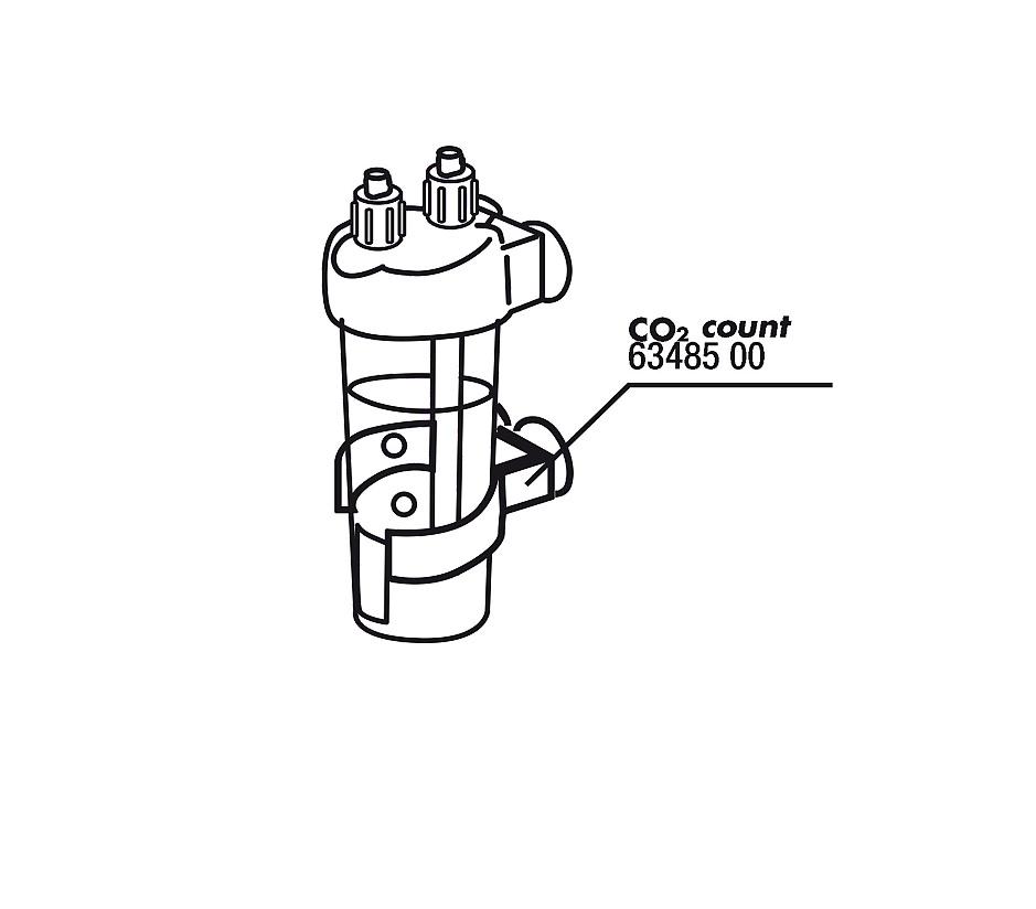 JBL držák pro CO2 Count