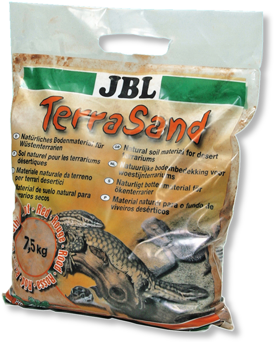 JBL TerraSand přírodní červený 7,5 kg