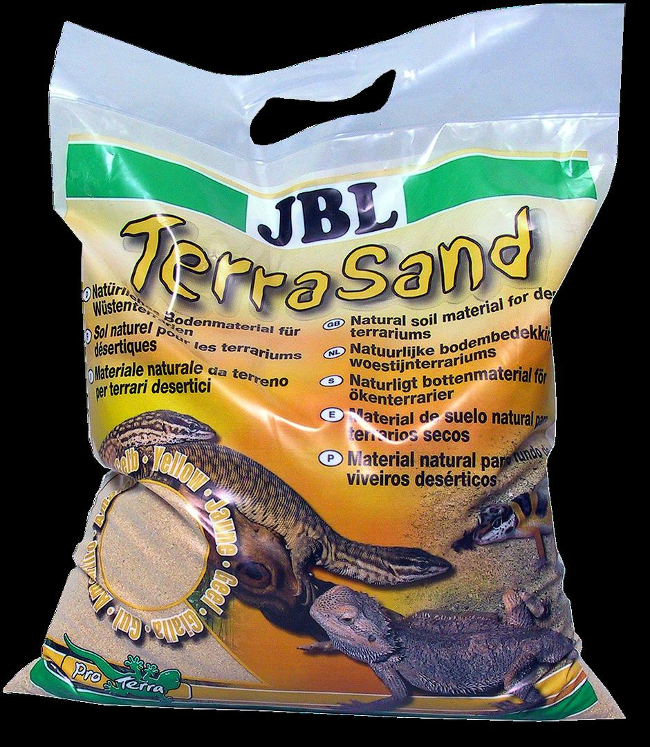 JBL TerraSand přírodní žlutý 7,5 kg