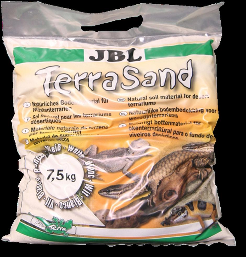 JBL TerraSand přírodní bílý 7,5 kg