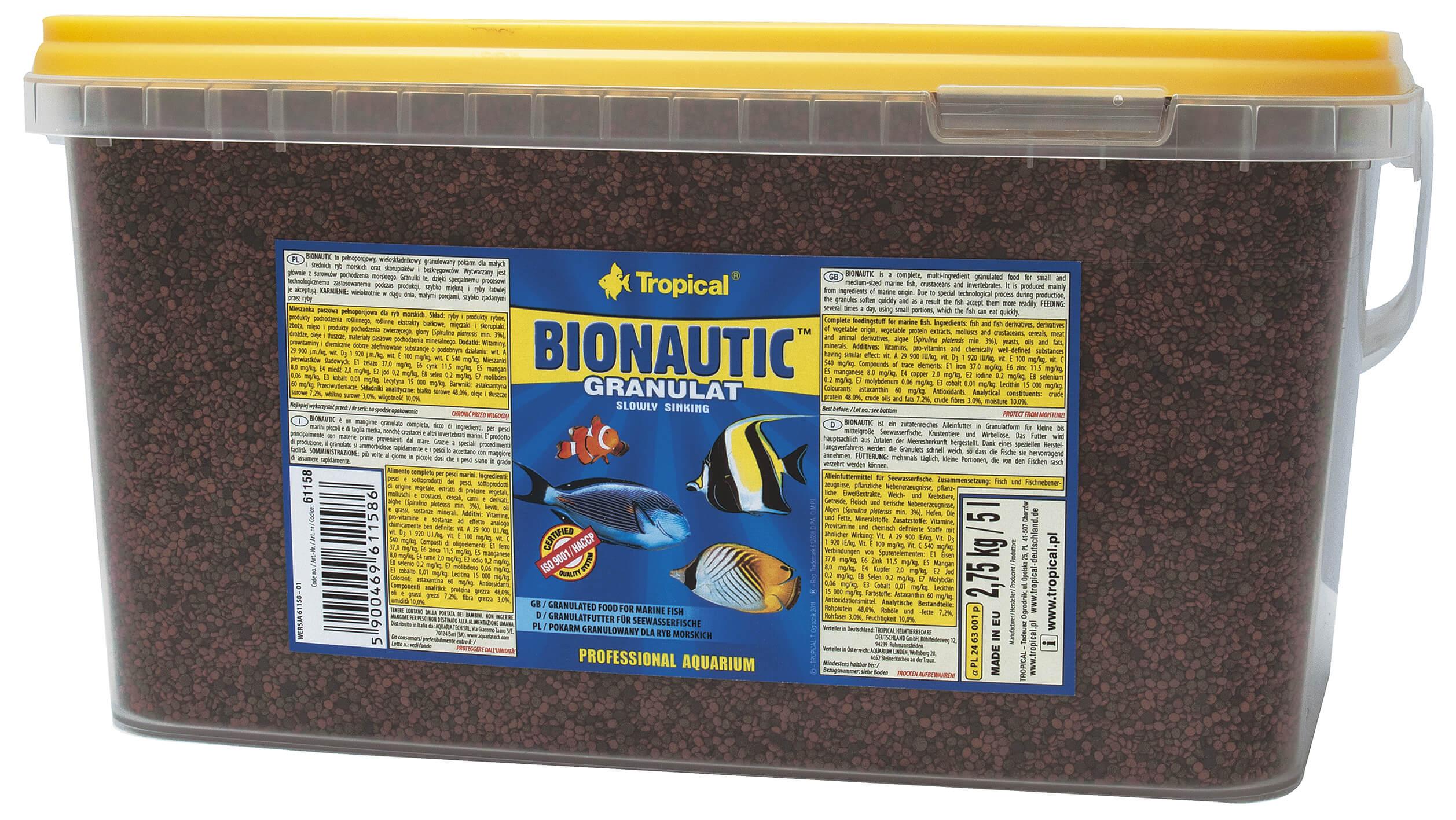 Tropical Bionautic Granulat - 5 000ml/2750g