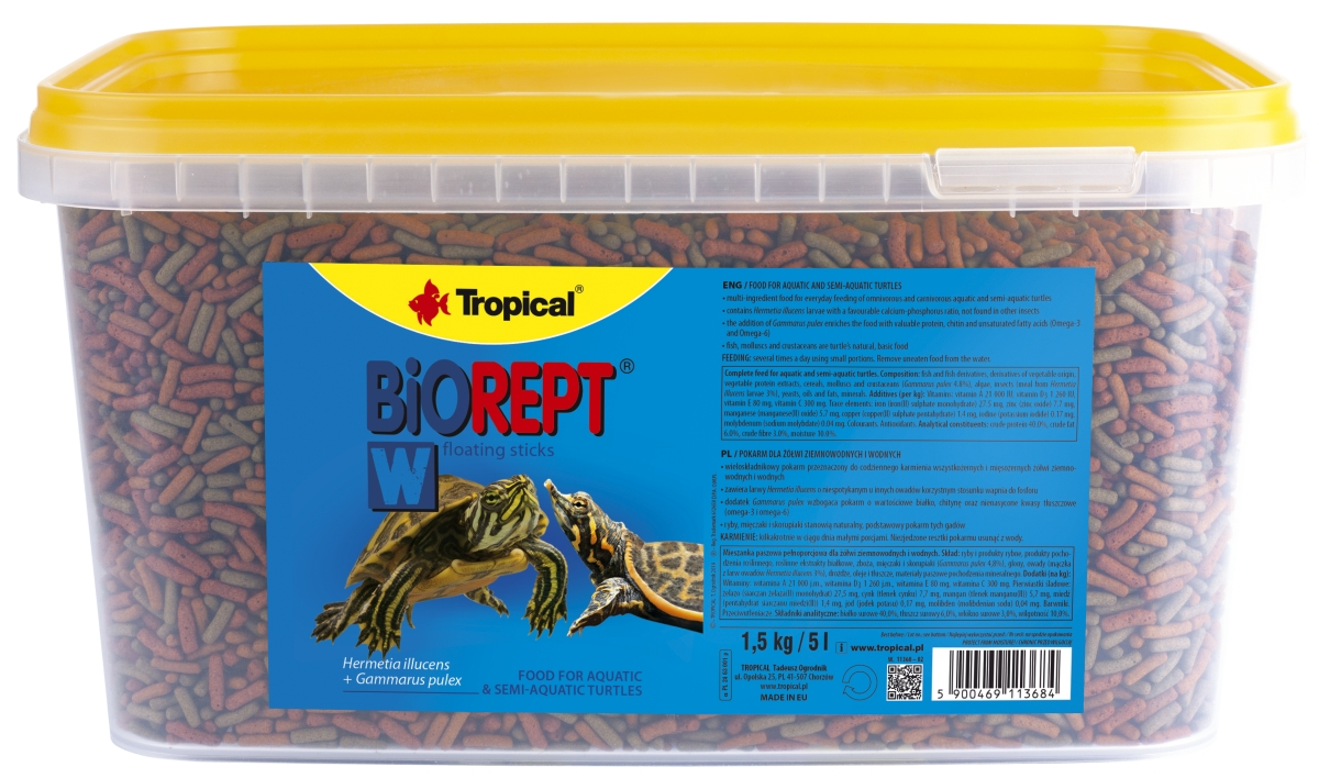 Tropical  Biorept W - 5000 ml/1500g