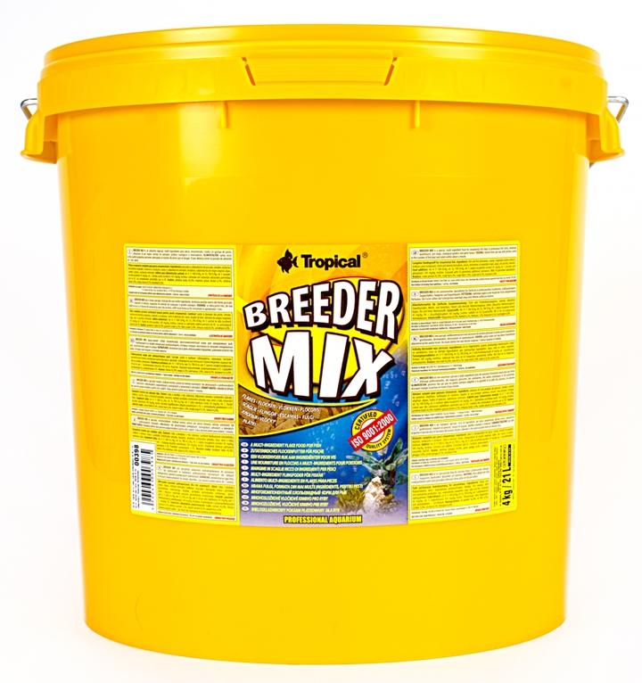 Tropical Breeder Mix - 21L/4kg