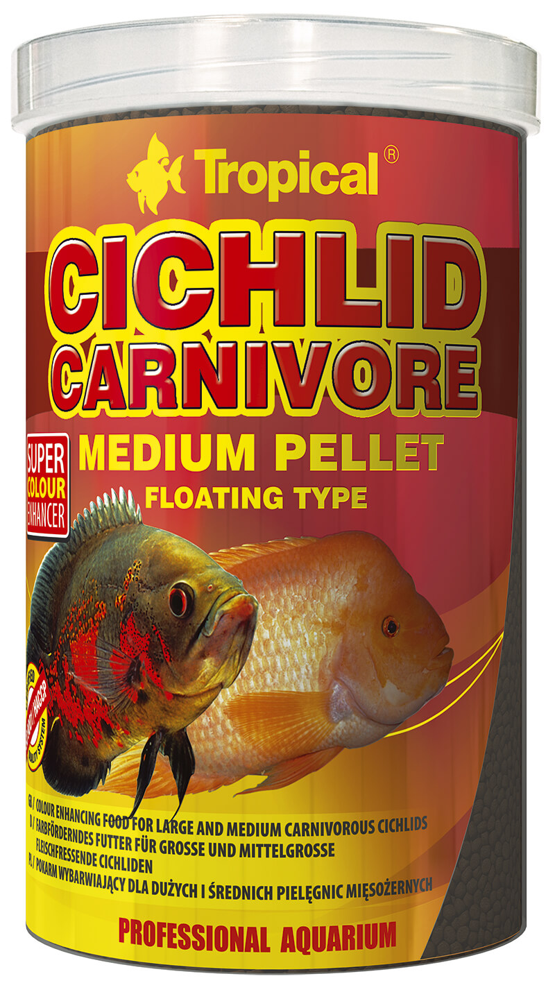Tropical Cichlid Carnivore Medium Pellet - 1000ml/360g