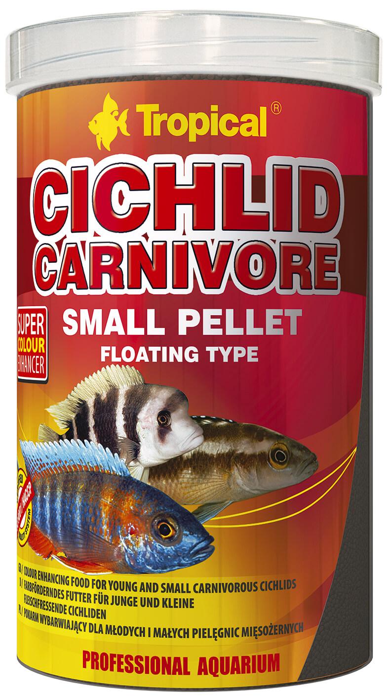Tropical Cichlid Carnivore Small Pellet - 1000ml/360g