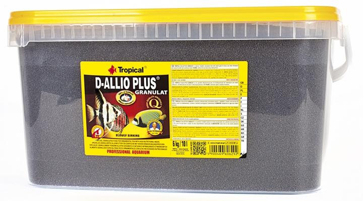 Tropical D-Allio Plus Granulat - 10 L/6 Kg