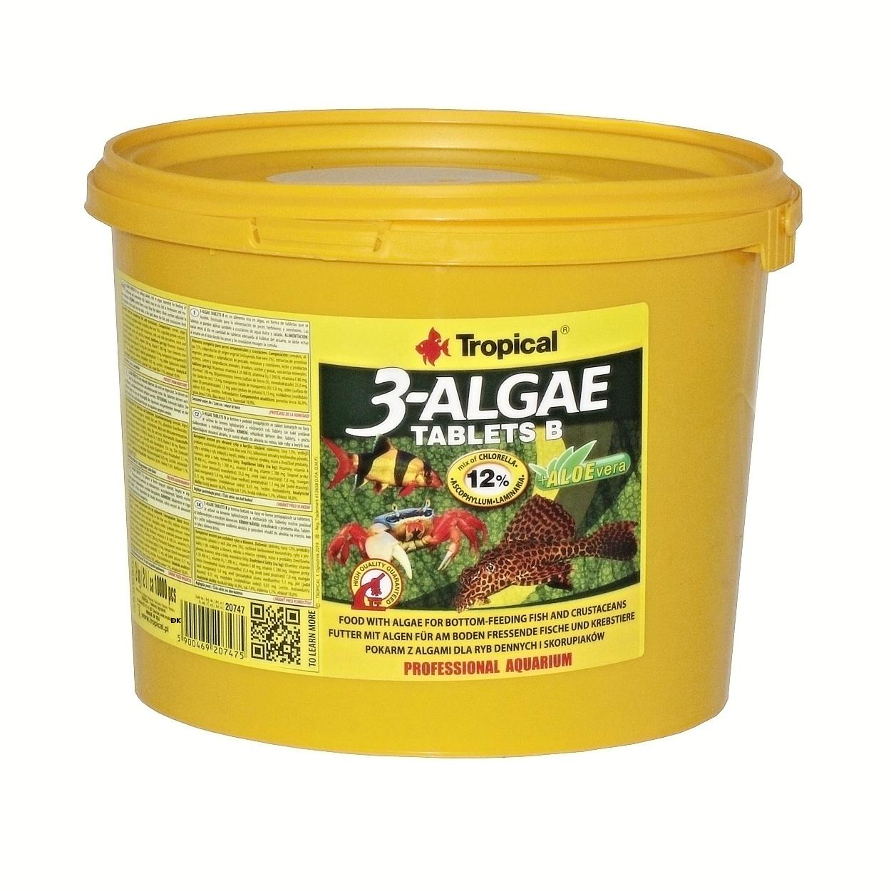 Tropical 3-Algae Tablets B - 2 Kg