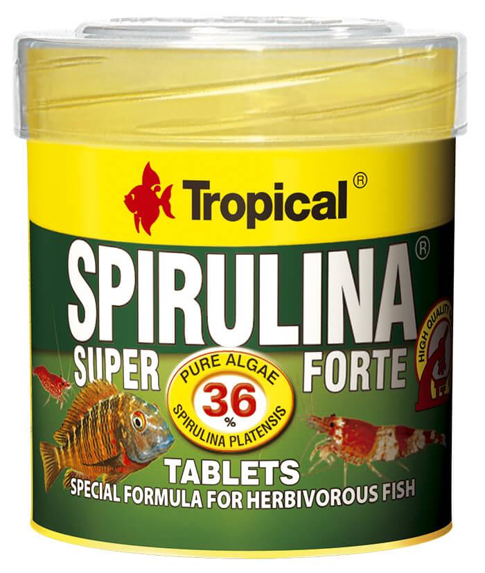 Tropical Super Spirulina Forte Tablets - 50ml/36g