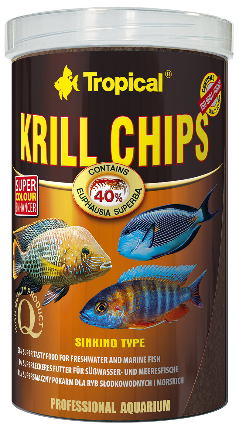 Tropical Krill Chips - 1000ml /500g