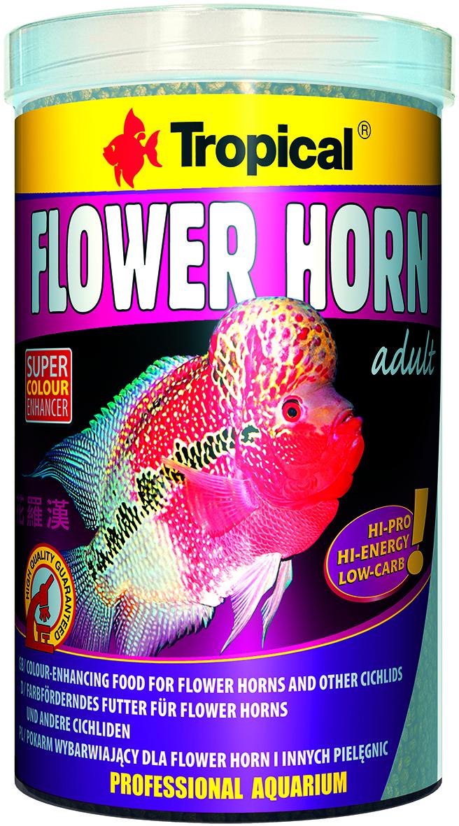 Tropical Flower Horn Adult Pellet - 1000ml /380g