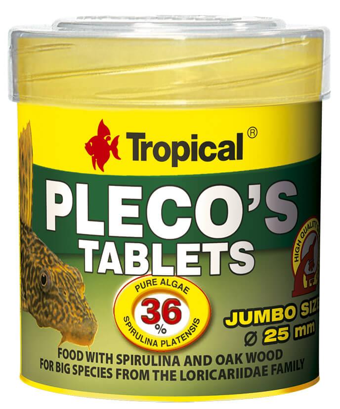 Tropical Pleco's Tablets - 50ml /30g