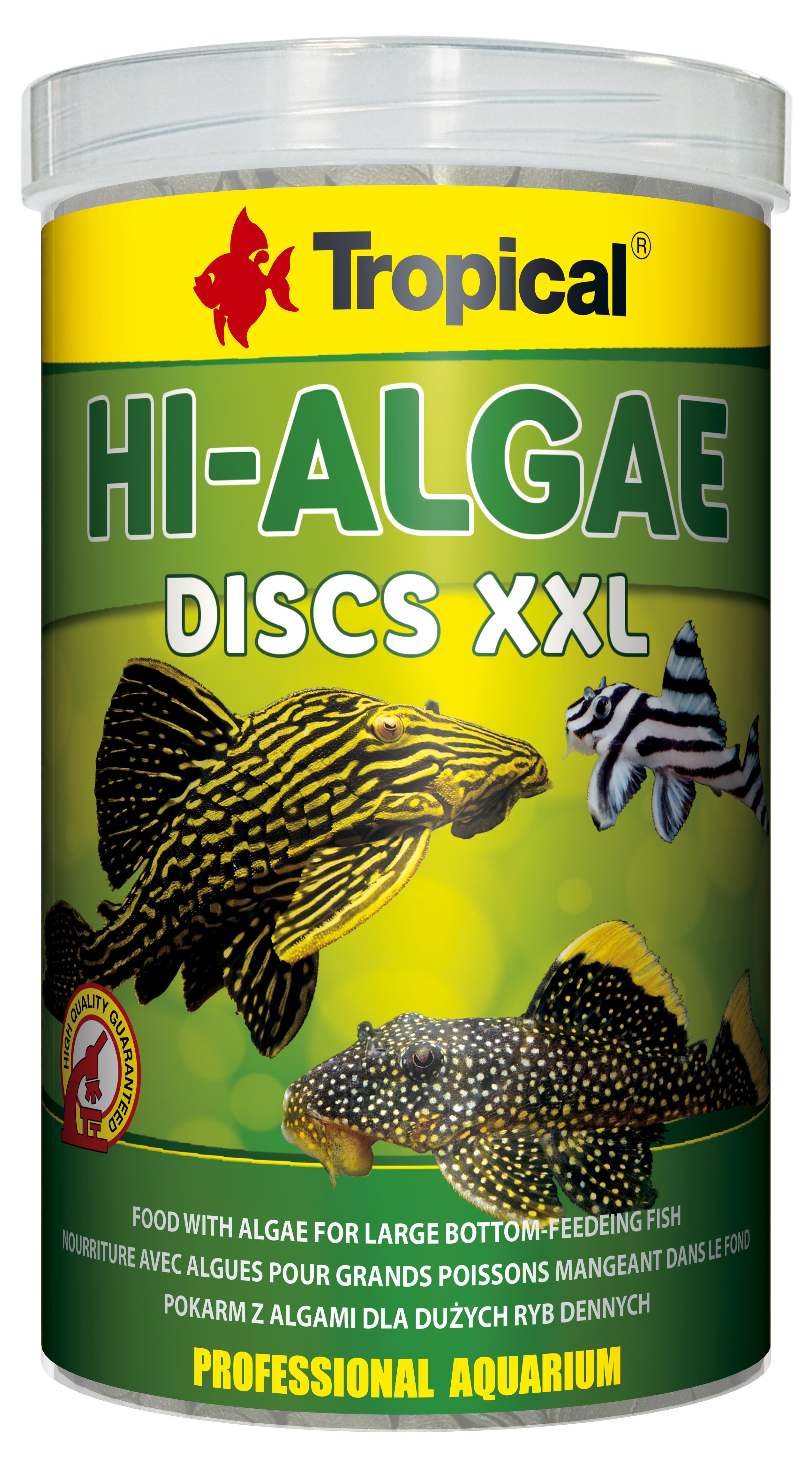 Tropical Hi-Algae Discs XXL - 1000ml/500g