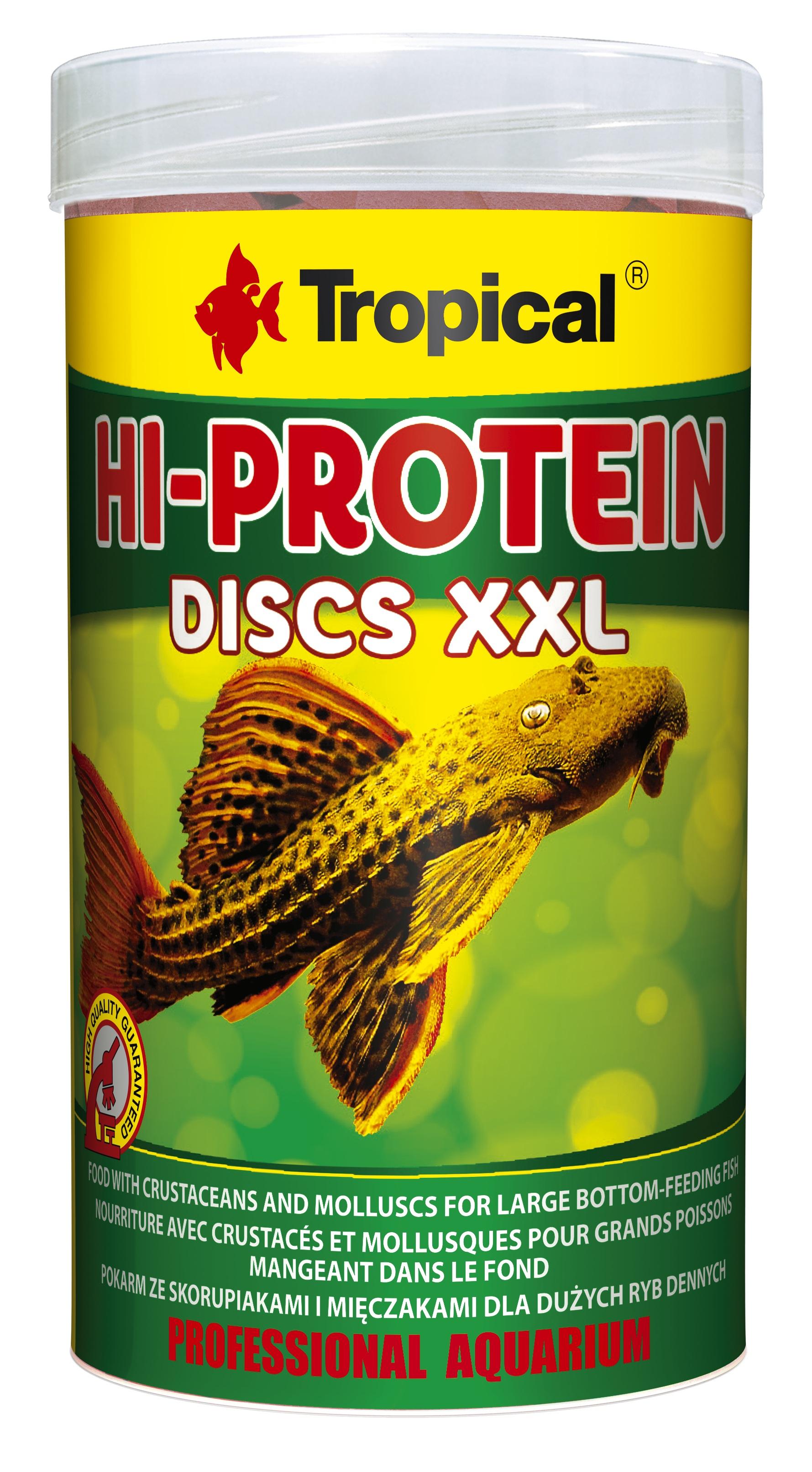Tropical Hi-Protein Discs XXL - 3 L/1,5 Kg